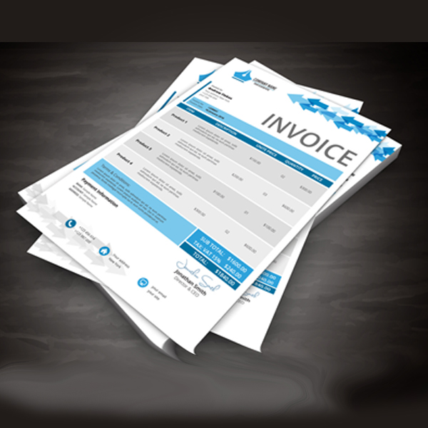 Shop Forms & Invoices