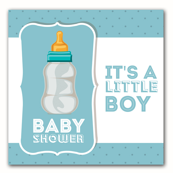 Baby Bottle Blue