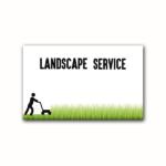 cutting the grass.- Green
