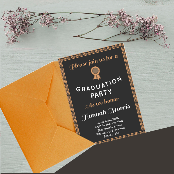 GRADUATION PARTY > From $39.99